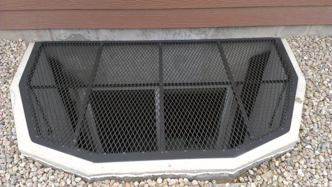 Colorado Custom Welding window well covers