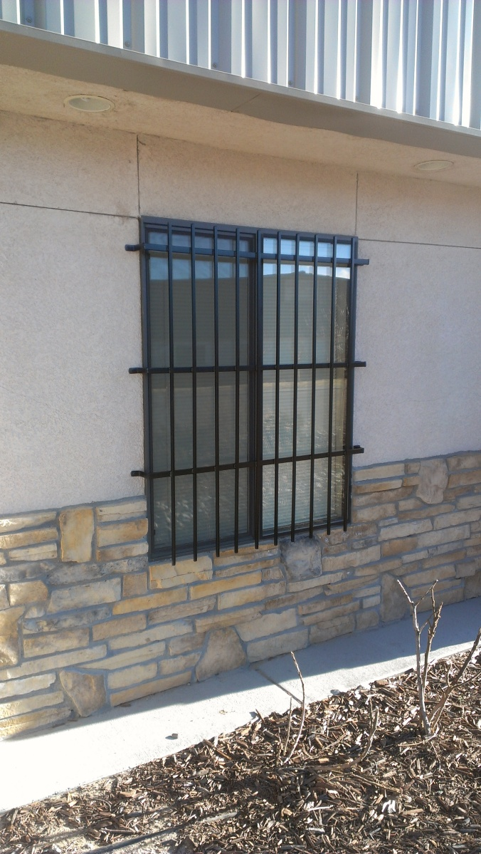 Colorado Custom Welding Securtity Window