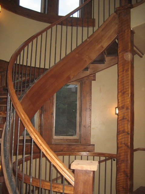 colorado custom welding spiral railing
