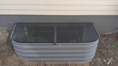 This window well cover made by Colorado custom welding fits perfectly to the window well eliminating dangerous spaces and gaps.