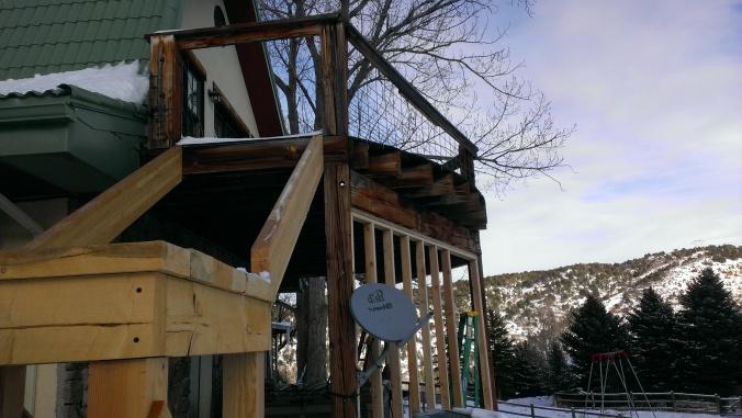 Glenwood Springs Vacation Home Railing